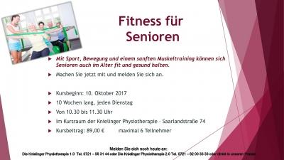 Fitness für Seniren_Oktober